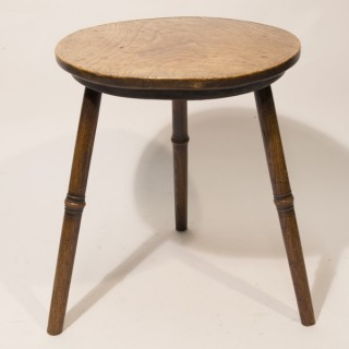 A Mid 18th Century Ash Cricket Table