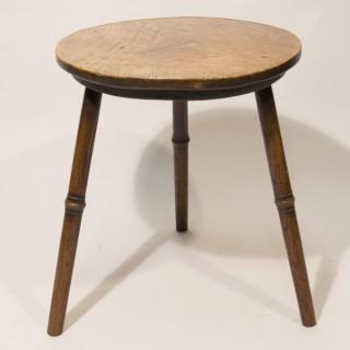 A Mid 18th Century Ash Cricket Table