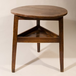 Late 18th Century Cherry Wood Cricket Table