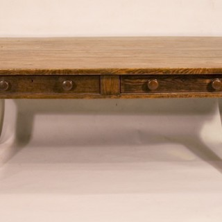 An Early 19th Century Ash Farmhouse Table
