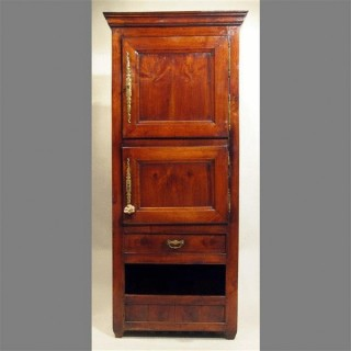 Antique French 18th Century Cherry Food Cupboard
