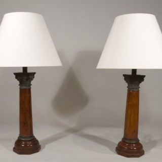 A Pair of Early 20th Century French Lamps