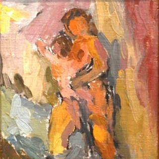 Mother & Child - Eugenie Baizerman