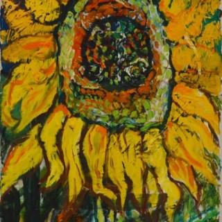 Sunflower - John Bratby
