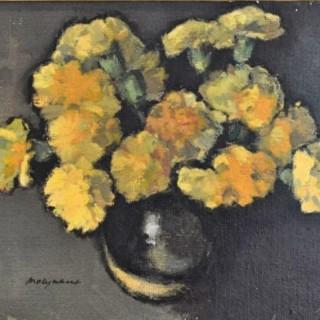 Vase D'Oeillets - Edward Molyneux