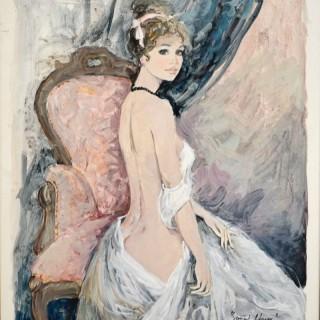 Anne au Salon - Bernard Charoy