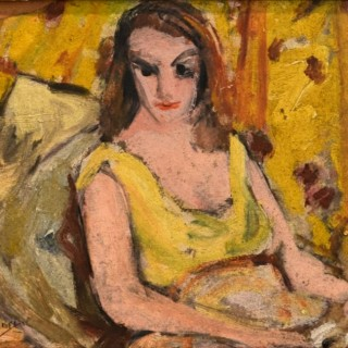 Girl in Yellow Dress - Grace Henry