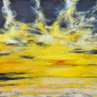 Evening Sky, Aberlady Bay, 1998 - John Houston