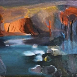 Mystical Landscape - Daphne Fedarb