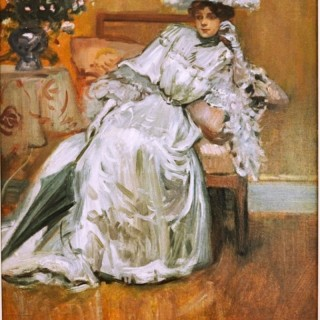 Elegante au Salon, 1905 - Pierre- George Jeanniot