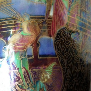 Wedgwood Fairyland lustre Pillar vase