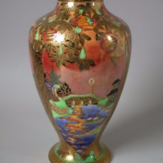 Wedgwood Fairyland Lustre willow vase