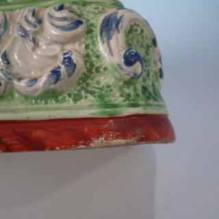 Staffordshire Pearlware Abraham & Isaac bocage group