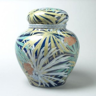 A Monumental Japanese Porcelain Jar by Iwataro