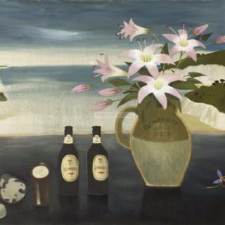 Casey's Bar, Clonakilty by Mary Fedden OBE RA PPRWA (1915 -2012)
