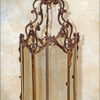 Chippendale roco style HALL LANTERN