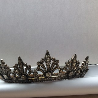 Georgian paste tiara
