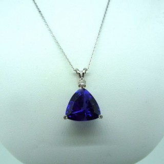 21.16 carat Natural Tanzanite Pendant
