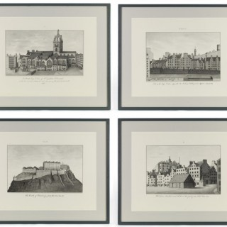 FRAMED PRINTS OF EDINBURGH LANDMARKS