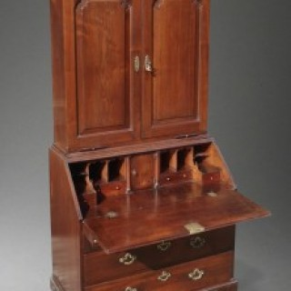 Early 18th Century Mahogany Bureau Bookcase