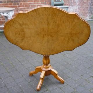Satin Birch Table