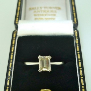 0.78 carat Natural Diamond Solitaire