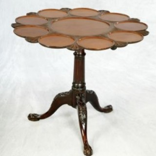 George III Mahogany Supper Table
