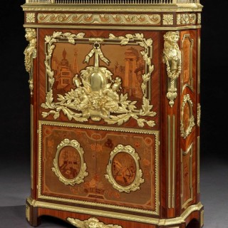 An Antique Secretaire by Maison Rogie of Paris