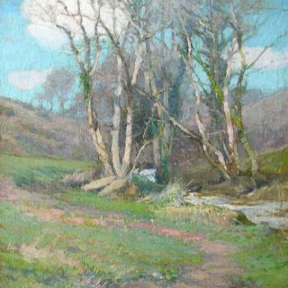 Early Spring, Lamorna, 1905