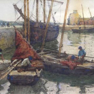 The Harbour, Concarneau