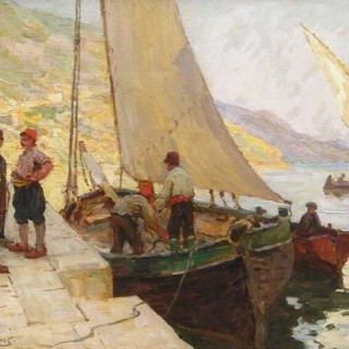 On the Quay, Dalmatia