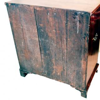 Antique Georgian Walnut Press Cupboard