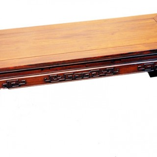 Oriental Hardwood Coffee Table