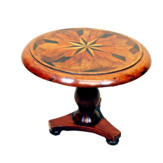 Antique 19th Century Miniature Specimen Wood Table