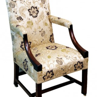 Antique Mahogany Gainsborough Chair