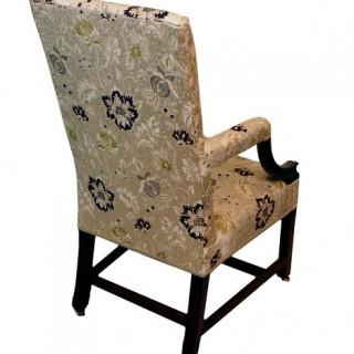 Antique Mahogany Gainsborough Chair