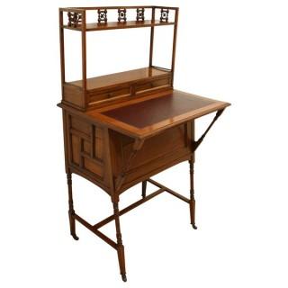 Walnut Writing Desk (c. 1875England)