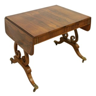 Rosewood Sofa Table by William Trotter