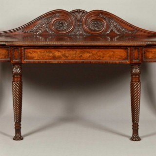 A Very Fine Antique Georgian Serving Table