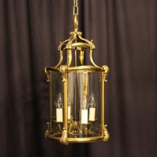 A French Bronze Four Light Antique Lantern