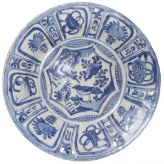 Chinese Kraak Porcelain Bowl