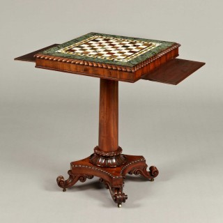 Late Georgian Games Table Attributed to Gillows of Lancaster