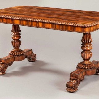 An Antique Georgian Writing Table by Gillows