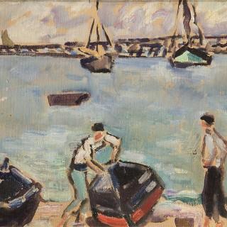 Les Barques au Port, 1934