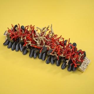 A unique sculptural bracelet