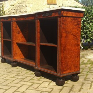 Regency Bullock Bookcase (c. 1815English)