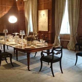 Large Regency Antique Extending Oak Dining Table (c. 1820United Kingdom)