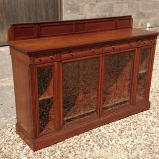 Antique Walnut Cabinet (c. 1880London)