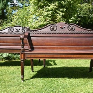The Rochfort Family Clogrennan Hall Benches (1806 to 1815	Ireland)