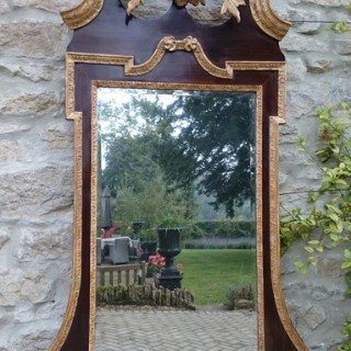 Antique 18th Century Mirror (c. 1750	United Kingdom)